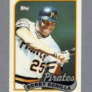 1989 Topps Baseball Tiffany #440 Bobby Bonilla - Pittsburgh Pirates