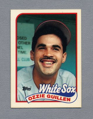 1989 Topps Baseball Tiffany #195 Ozzie Guillen - Chicago White Sox