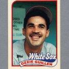 1989 Topps Baseball Tiffany #195 Ozzie Guillen - Chicago White Sox