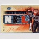 2008 Upper Deck Premier Remnants Triple NFL #PR3CJ Chad Johnson - Game-Used Jerseys /65