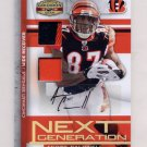 2008 Gridiron Gear Next Generation JSY Combos Autographs Prime #NG32 Andre Caldwell AUTO Dual JSY