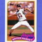 1989 Topps Baseball #632 Bryan Harvey RC - California Angels