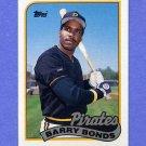 1989 Topps Baseball #620 Barry Bonds - Pittsburgh Pirates NM-M