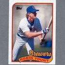 1989 Topps Baseball #615 Robin Yount - Milwaukee Brewers Ex