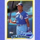 1989 Topps Baseball #540 Bo Jackson - Kansas City Royals