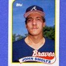 1989 Topps Baseball #382 John Smoltz RC - Atlanta Braves NM-M