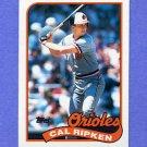 1989 Topps Baseball #250 Cal Ripken - Baltimore Orioles