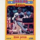 1988 Score Baseball #503 Reggie Jackson - California Angels