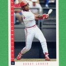 1993 Score Baseball #016 Barry Larkin - Cincinnati Reds
