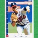 1993 Score Baseball #015 Tom Glavine - Atlanta Braves