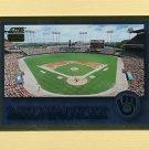 1994 Score Baseball Gold Rush #324 Milwaukee Brewers Team Checklist