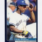 1994 Score Baseball #035 Rickey Henderson - Toronto Blue Jays