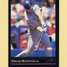 1992 Leaf Baseball Black Gold #197 Edgar Martinez - Seattle Mariners