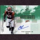 2007 SP Chirography Signature Receivers Emerald  #SRCJ Chad Johnson - Cincinnati Bengals AUTO /25