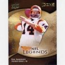 2009 Upper Deck Icons Football #178 Ken Anderson - Cincinnati Bengals /599
