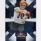 2009 Donruss Threads Football #163 Kevin Huber RC - Cincinnati Bengals /999