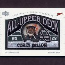 2003 UD Patch Collection Football All Upper Deck Patches #UD20 Corey Dillon - Cincinnati Bengals