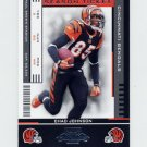 2005 Playoff Contenders Football #021 Chad Johnson - Cincinnati Bengals