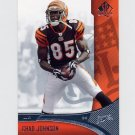 2006 SP Authentic Football #019 Chad Johnson - Cincinnati Bengals
