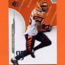 2008 SP Authentic Retail Football #018 Chad Johnson - Cincinnati Bengals