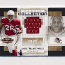 2009 Donruss Threads Rookie Collection Materials #03 Chris Wells RC - Cardinals Game-Used JSY /50