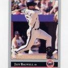 1992 Leaf Baseball #028 Jeff Bagwell - Houston Astros