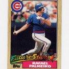 1987 Topps Baseball #634 Rafael Palmeiro RC - Chicago Cubs