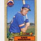 1987 Topps Baseball #512 Dave Magadan RC - New York Mets