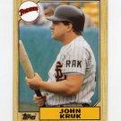 1987 Topps Baseball #123 John Kruk RC - San Diego Padres
