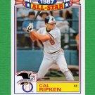 1988 Topps Baseball Glossy All-Stars #05 Cal Ripken - Baltimore Orioles