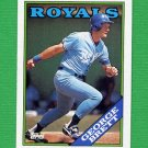 1988 Topps Baseball #700 George Brett - Kansas City Royals