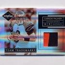 2007 Leaf Limited Team Trademarks Materials Prime #9 Carson Palmer - 2 Color Game-Used JSY /50