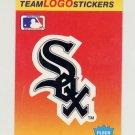 1991 Fleer Baseball Team Logo Stickers The Chicago White Sox