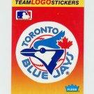 1991 Fleer Baseball Team Logo Stickers The Toronto Blue Jays Team Logo