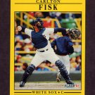 1991 Fleer Baseball #118 Carlton Fisk - Chicago White Sox