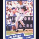 1990 Fleer Baseball #411 John Wetteland - Los Angeles Dodgers