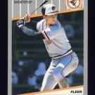1989 Fleer Baseball #617 Cal Ripken - Baltimore Orioles