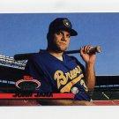 1993 Stadium Club Baseball #701 John Jaha - Milwaukee Brewers