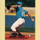 1993 Stadium Club Baseball #619 Richie Lewis RC - Florida Marlins