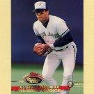 1993 Stadium Club Baseball #596 Roberto Alomar - Toronto Blue Jays
