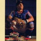 1993 Stadium Club Baseball #592 Ivan Rodriguez MC - Texas Rangers