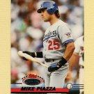 1993 Stadium Club Baseball #585 Mike Piazza - Los Angeles Dodgers