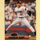 1993 Stadium Club Baseball #551 Charles Nagy - Cleveland Indians