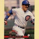 1993 Stadium Club Baseball #549 Luis Salazar - Chicago Cubs