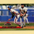 1993 Stadium Club Baseball #542 Ryan Thompson - New York Mets