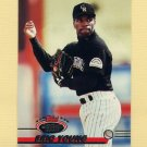 1993 Stadium Club Baseball #526 Eric Young - Colorado Rockies