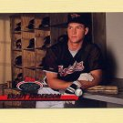 1993 Stadium Club Baseball #507 Brady Anderson - Baltimore Orioles