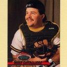1993 Stadium Club Baseball #496 Mike LaValliere - Pittsburgh Pirates