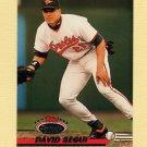 1993 Stadium Club Baseball #479 David Segui - Baltimore Orioles