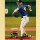 1993 Stadium Club Baseball #467 Jeff Nelson - Seattle Mariners